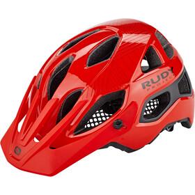 Rudy Project Protera Kask rowerowy, czerwony/czarny